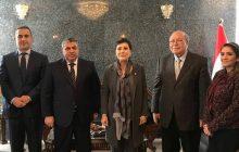 زيارة رئيس أتحاد المقاولين العراقيين الى المملكة الأردنية الهاشمية