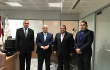رئيس اتحاد المقاولين العراقيين الأستاذ علي فاخر السنافي  بجولة عمل إلى البنك المركزي العراقي