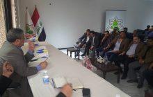 التقى رئيس اتحاد المقاولين العراقيين الأستاذ علي فاخر السنافي بعدد كبير من مقاولي محافظة بغداد