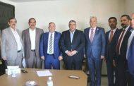 رئيس اتحاد المقاولين العراقيين يستقبل الهيئة الادارية الجديدة لفرع الاتحاد في محافظة كربلاء المقدسة