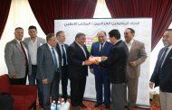 رئيس اتحاد المقاولين العراقيين يستقبل وفد جمعية رجال الأعمال التركي العراقي