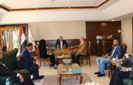 ممثل السفارة الإيرانية في ضيافة اتحاد المقاولين العراقيين