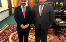 لقاء رئيس الاتحاد وزير الاعمار والإسكان والبلديات العامة