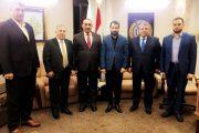·  رئيس اتحاد المقاولين العراقيين والعرب يلتقي نقيب المحاسبين والمدققين العراقيين
