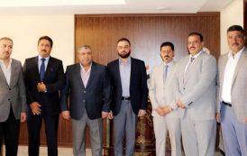 رئيس اتحاد المقاولين العراقيين يستقبل الهيئة الادارية الجديدة لفرع الاتحاد في محافظة الانبار