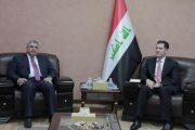 خلال استقباله رئيس اتحاد المقاولين العراقيين و العرب وزير التخطيط يوجه بتبسيط اجراءات تصنيف المقاولين وانجاز المعاملات خلال 24 ساعة فقط