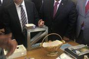 اتحاد المقاولين العراقيين يشارك في افتتاح معرض المؤتمر الدولي للبناء والتشييد والبنية التحتية والكهرباء والمياه المقام على ارض معرض بغداد الدولي .