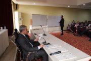 سير الانتخابات التي جرت اليوم لاختيار اعضاء مجلس ادارة اتحاد المقاولين العراقيين ،، بمشاركة المقاولين والشركات من جميع المحافظات العراقية