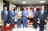 اتحاد المقاولين يهنئ نقابة المعلمين بمناسبة نجاح انتخاباتها وفوز الاستاذ عباس السوداني نقيب للمعلمين العراقيين .