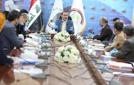 بحضور وزير التخطيط الدكتور خالد بتال النجم ، لجنة تصنيف المقاولين تعقد الجلسة ٧١ / يوم الاثنين ١٨-٥-٢٠٢٠