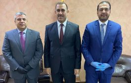 ألسنافي يلتقي وزير التخطيط العراقي ، والطرفان يتباحثان الحلول الممكنة لقضايا الشركات والمقاولين