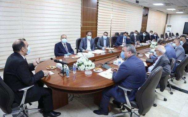انجاز متقدم لاتحاد المقاولين العراقيين على مستوى الانفتاح والتقارب مع الجهات الحكومية