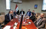 السنافي يزور البرلمان ويلتقي برئيس لجنة الاقتصاد والاستثمار النيابية احمد الكناني