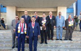 وفد اتحاد المقاولين العراقيين يشارك في افتتاح فعاليات معرض حلب الدولي بسوريا
