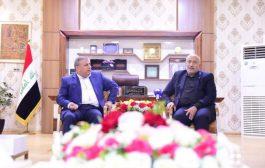 السنافي يزور محافظة كربلاء ويلتقي محافظها السيد الخطابي