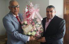 زيارة الأستاذ علي صبيح رئيس اتحاد الصناعات العراقي إلى اتحاد المقاولين العراقيين